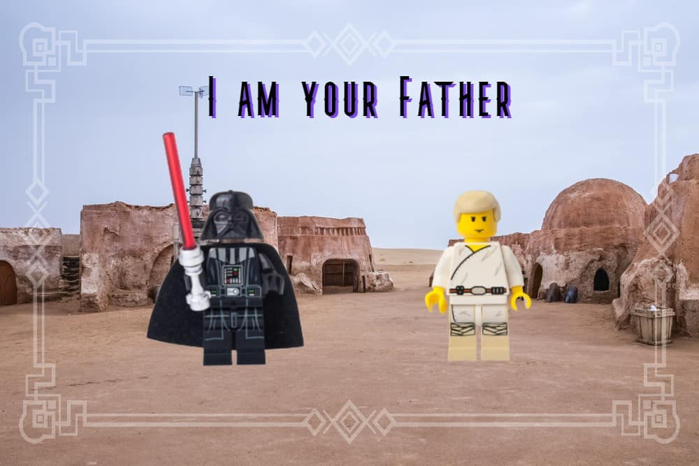Vader is Luke's Father