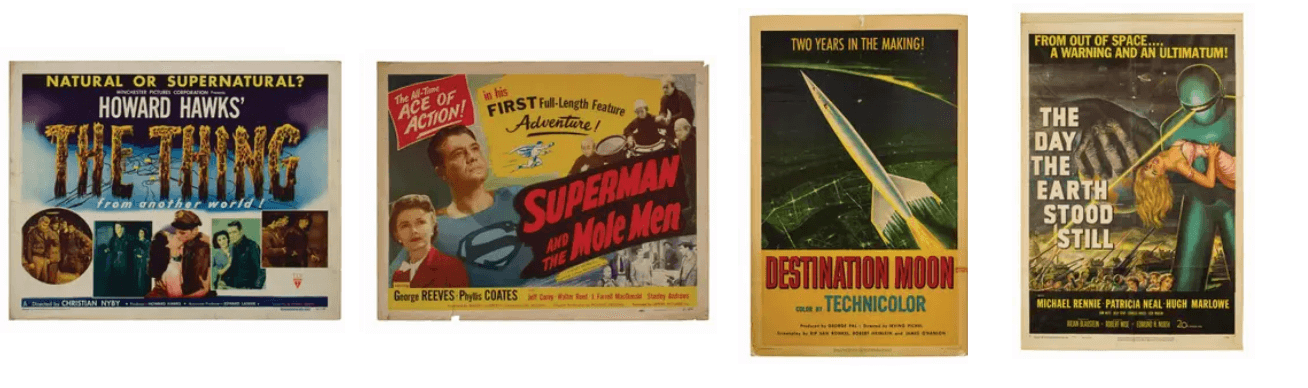 Vintage Movie Posters Collection